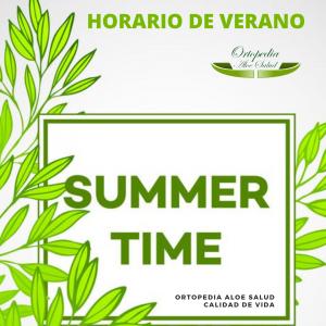 Horario de verano 2021